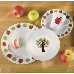 16-Piece Apple Dinnerware Set