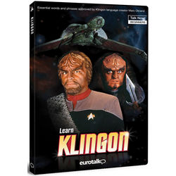 Learn Klingon CD ROM Set