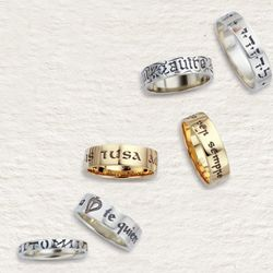Language of Love Ring