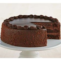 Personalizable 3-Layer Chocolate Cake