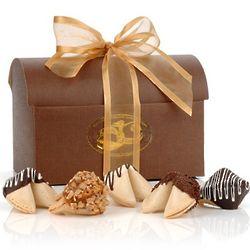 Gourmet Fortune Cookies Treasure Chest