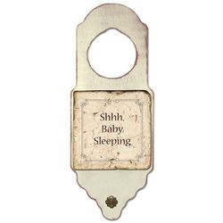 Shhh Baby Sleeping Door Hanger