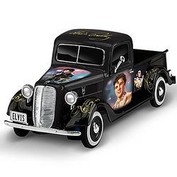 Rock n' Rollin' with Elvis Ford Truck Sculpture
