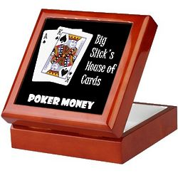 House of Cards Poker Money Box