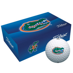 Personalized Collegiate Golf Balls Florida Gators