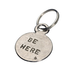 Be Here Be Now Key Ring
