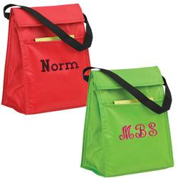 Monogrammed Lucky Lunch Bag