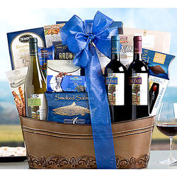 Alfasi Kosher Wine Trio Gift Basket