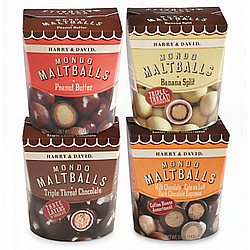 Create Your Own 4-Pack Chocolate Maltballs Sampler
