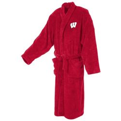 University of Wisconsin Men's Ultra Plush Bathrobe