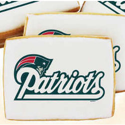 NFL New England Patriots Cookies