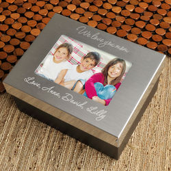 Personalized Mother's Lasting Memories Box