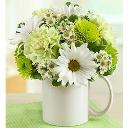 Mugable to Say Congratulations Floral Bouquet