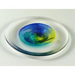 Handblown Glass Plate