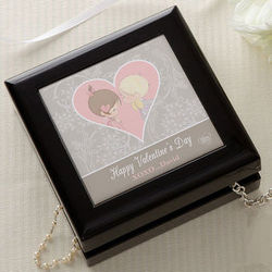 Personalized Precious Moments Love Jewelry Box