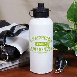 Lymphoma Awareness Athletic Dept. Water Bottle
