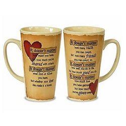 It Doesn't Matter Large Coffee Mug