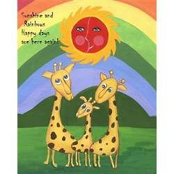 Personalized Sunshine Days Art Print