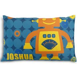Personalized Kid's Robot Pillowcase