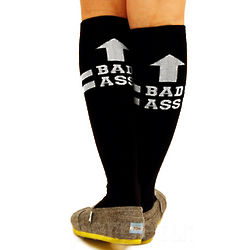 Bad Ass Knee Socks
