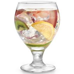Engravable Sangria Glass