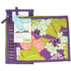Girl's Zippered Reusable Purple Lanai Lunch Sleeve