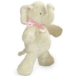 "25"" Smushy Elephant with Pink Bow"