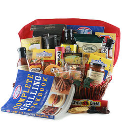 Grill Master Grilling Gift Basket