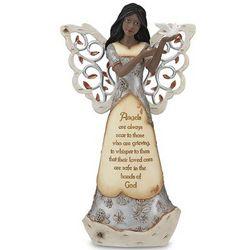 African American Sympathy Angel