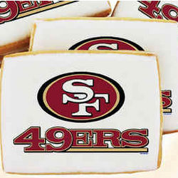 NFL San Francisco 49ers Cookies