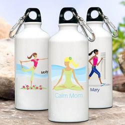 "Personalized ""Go-Mom"" Water Bottle"