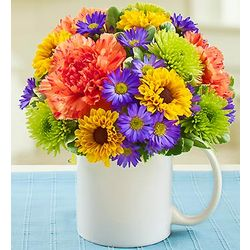 Mugable to Say You're The Best! Floral Bouquet