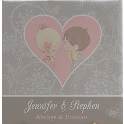 Personalized Precious Moments Canvas Art for Couples