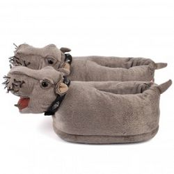 NCIS Bert the Farting Hippo Slippers
