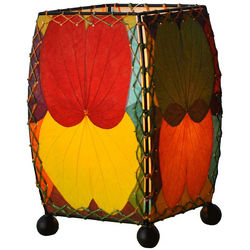 Butterfly Leaf Iron Table Lamp