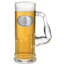 Muscle Mug with Pewter Emblem