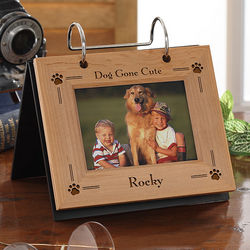 Pet Cat or Dog Personalized Flip Photo Album