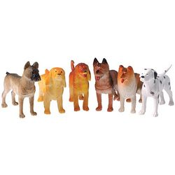 Plastic Dog Toys Assortment