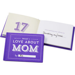 What I Love About Mom Gift Journal
