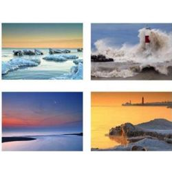 Lake Michigan Photo Note Cards