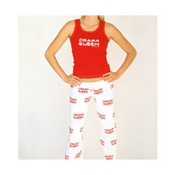 Drama Queen Red Top and Pants Set