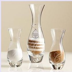 Personalized Unity Sand Vase Set