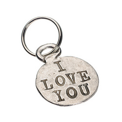I Love You This Much Key Ring