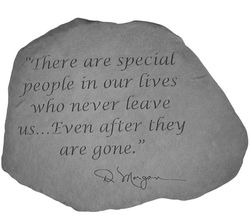 Special People Memorial Garden Stone
