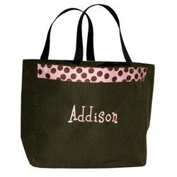 Monogrammed Bridal Party Bag