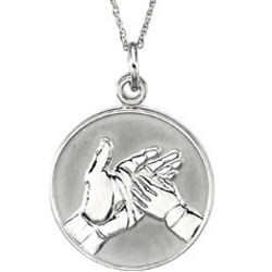 Loss of a Child Comfort Wear Pendant Necklace