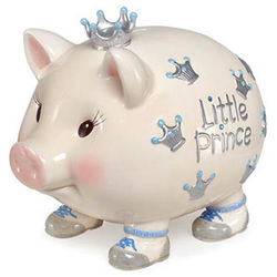 Giant Hand Painted Little Prince Bank