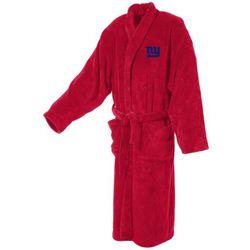 New York Giants Men's Ultra Plush Bathrobe
