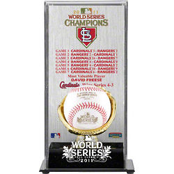 St. Louis Cardinals Gold Glove Baseball Display Case