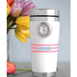 Personalized Tick Tock Tumbler for Mom